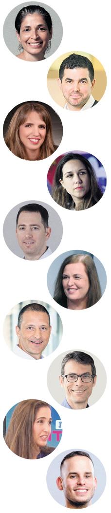 שופטי התחרות, מלמעלה למטה: סיגלית קלימובסקי (GROVE), אייל ניב (פיטנגו), אתי בן זאב (בנק הפועלים), נטהלי רפואה (ויולה), רותם אדלר (10D) שרית פירון ((Team8, יובל כהן (StageOne), עמנואל תימור (וורטקס ישראל), נופר עמיקם (גלילות קפיטל פרטנרס) וגיא קצוביץ' (LA Fusion)