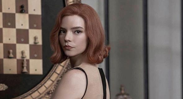 Anya Taylor-Joy plays Beth Harmon on Neetflix's The Queen's Gambit. Photo: Netflix