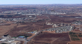נוף גבעת הכורכר זירת הנדלן, צילום: Google maps