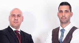 """לירום סנדה ו משה בן בסט עורכי דין , צילום: יח""""צ"""