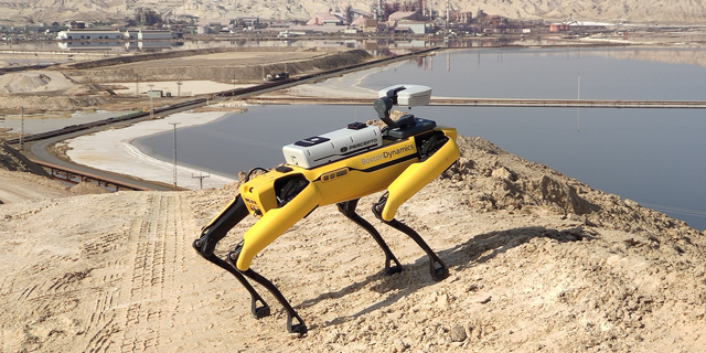 Boston Dynamics' robo-dog gets Israeli Percepto's drone capabilities