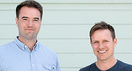 מייסדי Substack כריס בירד והאמיש מקנזי, צילום: Substack