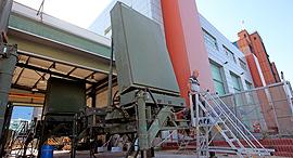 רדאר מערכת כיפת ברזל ב מפעל אלתא ב אשדוד, צילום: צפריר אביוב
