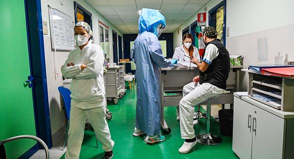 בית חולים באיטליה, צילום: איי אף פי