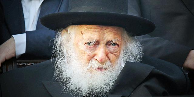 הרב חיים קנייבסקי, צילום: אלכס קולומויסקי