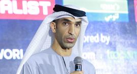 Thani bin Ahmed Al Zeyoudi. Photo: Orel Cohen