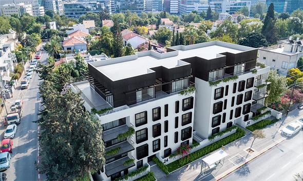 הפרויקט בעולי הגרדום 24-22. דירות גדולות מהממוצע ומרחב תמרון לדיירים