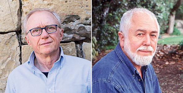 מימין: יהושע סובול ודויד גרוסמן