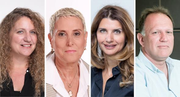 מימין: עמיר בירם, אילנית מלכיאור, מירה אלטמן ומאיה הופמן לוי