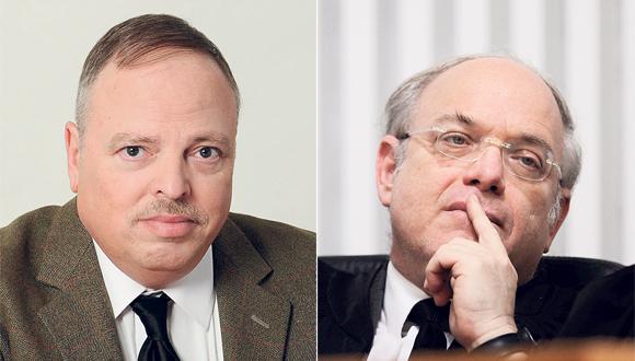 "השופט ניל הנדל ועו""ד יראון פסטינגר, צילום: אלכס קולומויסקי, משרד עורכי דין רון-פסטינגר"