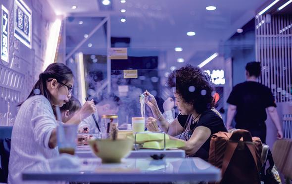 מסעדה בהונג קונג