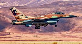 מטוס אף 16 מ דגם נץ , צילום: שי פינקלמן
