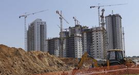 בנייה למגורים, צילום: עמית שעל