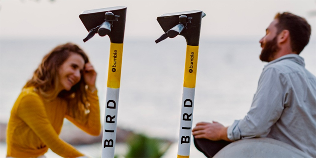 Romance on the go: Bird and Bumble partner to help create meaningful connections