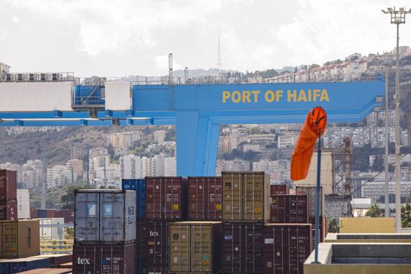 נמל חיפה, צילום: בלומברג