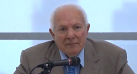 """שופט אורי גורן בורר נשיא מחוזי ת""""א לשעבר , צילום: יוטיוב / נבו הוצאה לאור"""