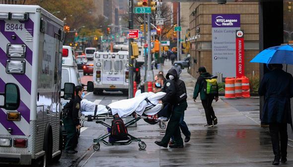 חולה קורונה ניו יורק