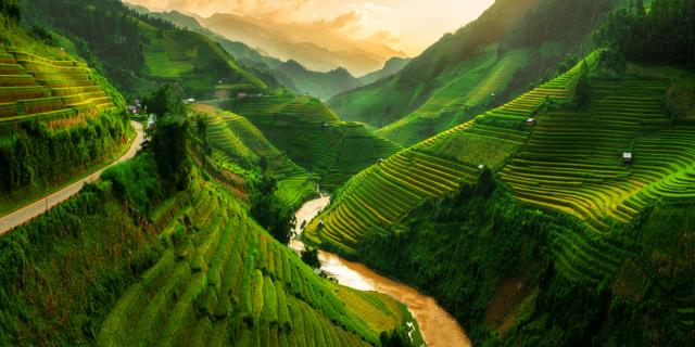 טבע עם צבע: מקומות צבעוניים ברחבי העולם