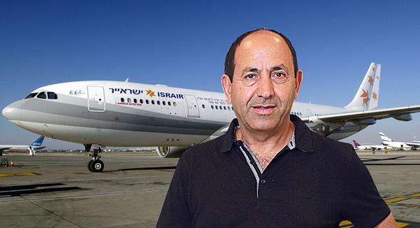 רמי לוי עלרקע מטוס ישראייר