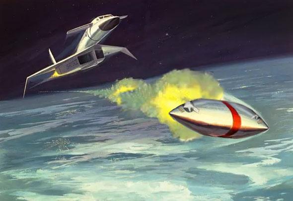 טיל או צלחת מעופפת? למה לא גם וגם, צילום:  scalemate