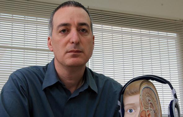 BrainsGate CEO Avinoam Dayan. Photo: Eran Yoffi Cohen