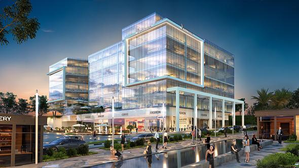 פרויקט דוידסון בשדרה. בניין של שמונה קומות בדגש על עירוב שימושים, הדמיה: ויו פוינט