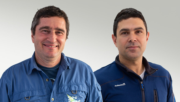 SeeTree co-founders Israel Talpaz and Guy Morgenstern. Photo: SeeTree