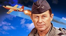 צ'אק ייגר הקברניט , צילום:  USAF
