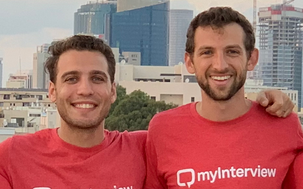 Co-founders Benjamin Gillman and Guy Abelsohn. Photo: myInterview