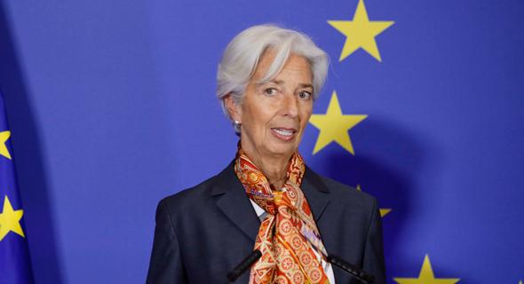 כריסטין לגארד, נשיאת הבנק האירופאי המרכזי