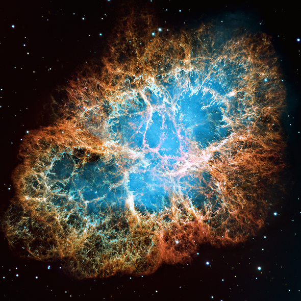 Scientists hope to use a UV telescope to further probe supernovas, such as the Crab Nebula seen here which is a supernova remnant. Photo: NASA
