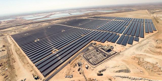 שדה סולארי של אנרג