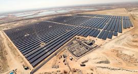 שדה סולארי שסולאיר הקימה עבור אנרג'יקס ברמת חובב, צילום: ויקיפדיה