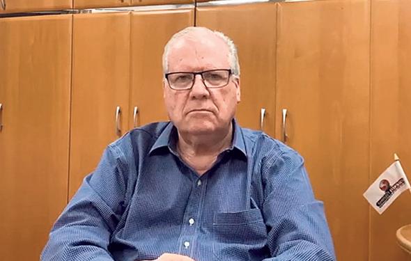 Shirbit CEO Zvi Leibushor. Screenshot: YouTube