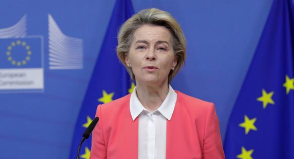 אורסולה פון דר ליין, נשיאת נציבות האיחוד האירופי , צילום: רויטרס