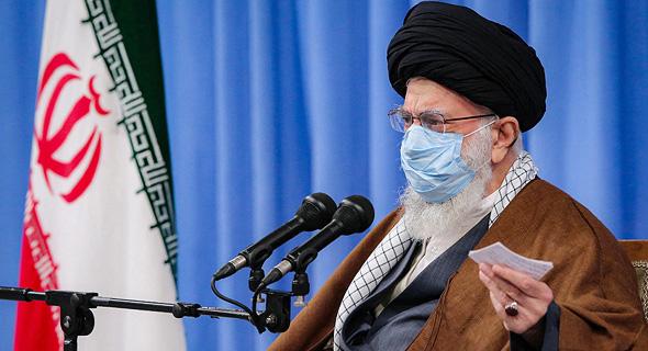 המנהיג העליון של איראן חמינאי , צילום: אם סי טי