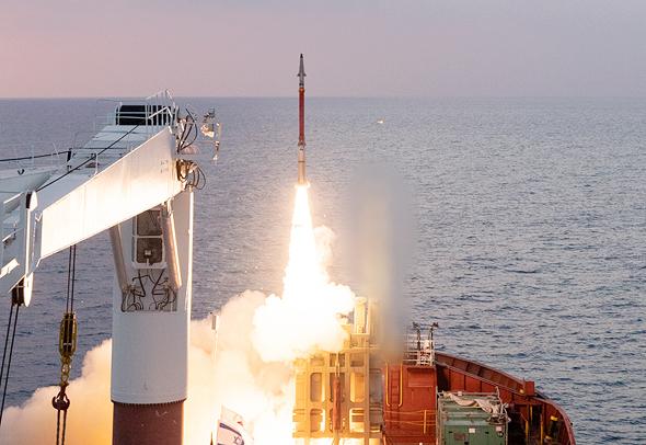 מערכת הגנה אווירית כיפת ברזל יירוט טילי שיוט, צילום: אגף דוברות והסברה, משרד הביטחון