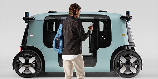 אמזון מציגה את הרכב האוטונומי הראשון שלה