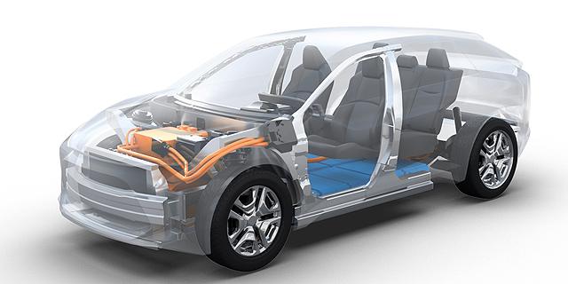 מעממית לחשמלית: סובארו תשיק מכונית חשמלית ראשונה באירופה