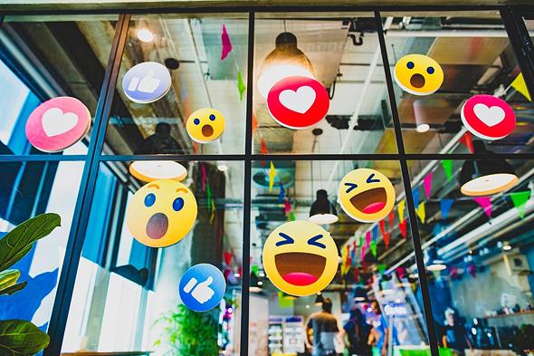 The Facebook office in Sarona, Tel Aviv. Photo: Facebook