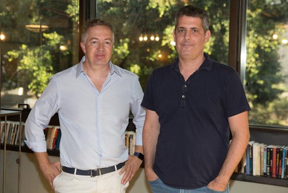 BigID co-founders Dimitri Sirota  (left) and Nimrod Vax. Photo: BigID