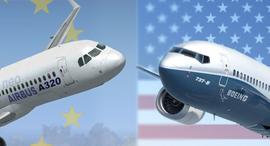 מטוסי בואינג ואיירבוס, צילום: Boeing, Airbus