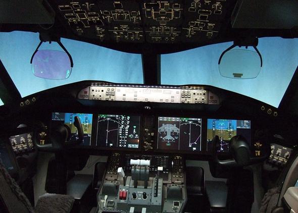קוקפיט של בואינג 787, צילום: Wikimedia