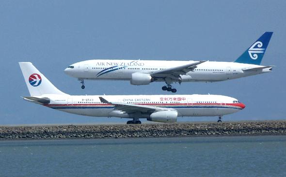 איירבוס A330 ובואינג 777