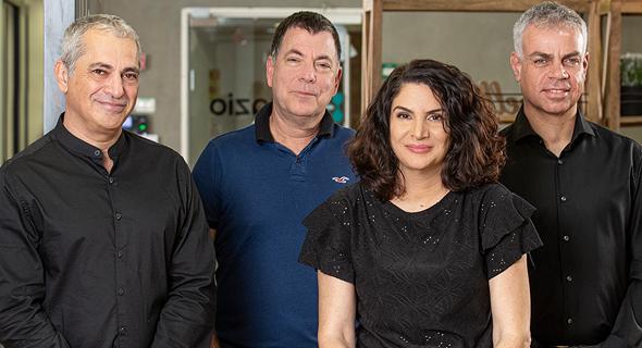 Iguazio's co-founders: Yaron Haviv, Yaron Segev, Orit Nissan-Messing, and Asaf Somekh. Photo: Iguazio
