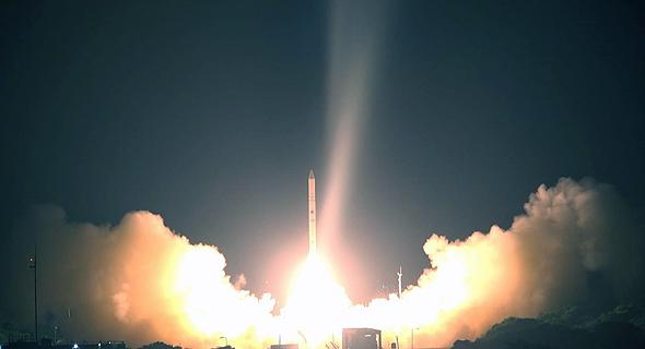 Ofek 16 launch. Photo: IAI