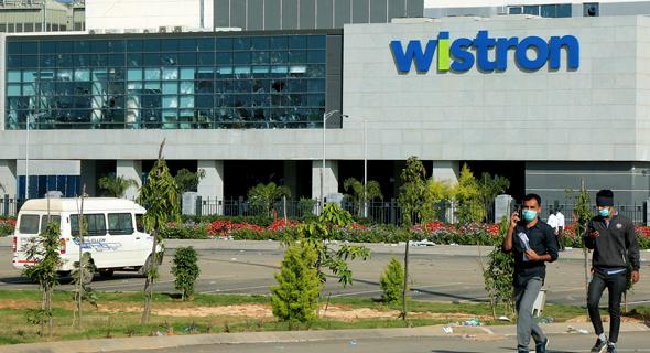 המפעל של חברת וויסטרון בהודו