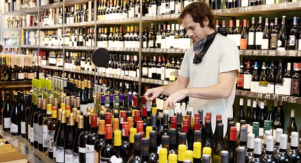 """לה בושון, חנות יין חדשה בנוה צדק בת""""א, צילום: אביגיל עוזי"""