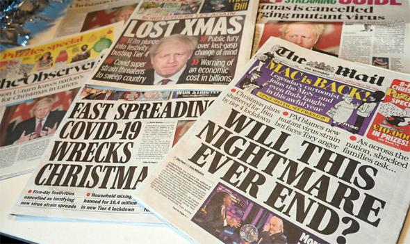 עיתוני בריטניה היום