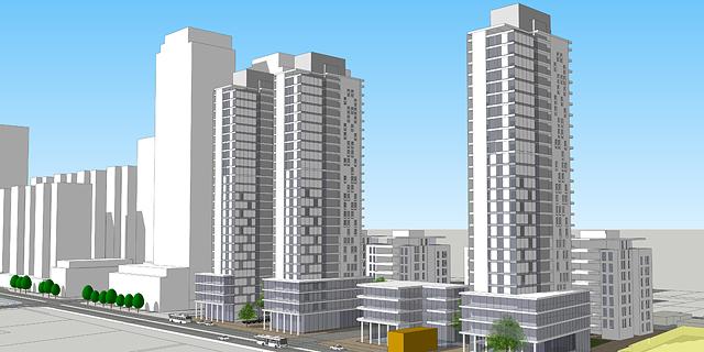 מתחם משרד החקלאות בחדרה יהפוך לפרויקט מגורים בן 370 דירות